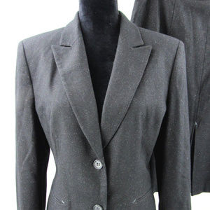 Tahari Skirt Suit Wool Blend